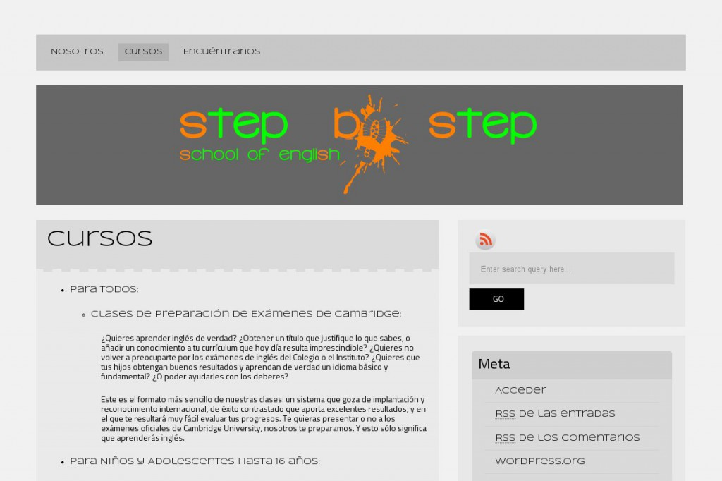 Step by step Llanes